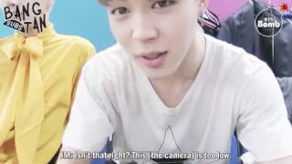 [ENG] 161102 [BANGTAN BOMB] Jimin's selfie cam – interview time with BTS