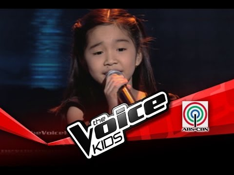 """The Voice Kids Philippines Blind Audition """"Girl on Fire"""" by Darlene"""