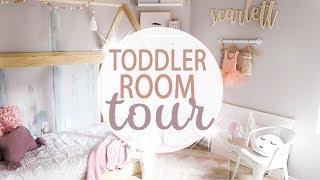 TODDLER ROOM TOUR 2018 / Toddler Girl Room