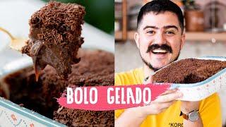 BOLO GELADO DE BRIGADEIRO | BIGODE SOZINHO NA COZINHA