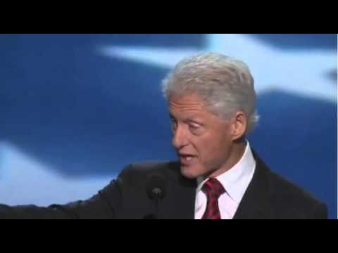 A rare moment of truth from Clinton at DNC 2012