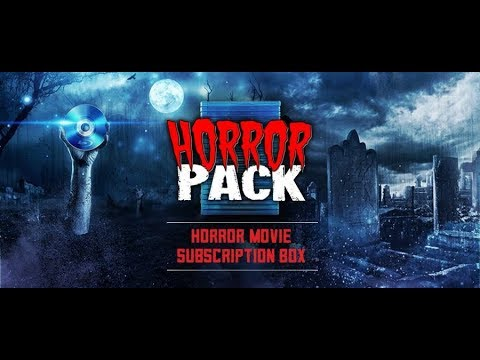 March 2018 Horror Pack Blu Ray Unboxing