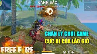 Free Fire   Phong Cách Chơi Game Cực Dị Của Lão Gió   Lão Gió