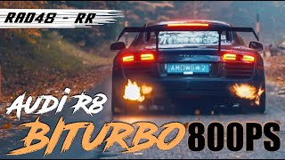 Audi R8 Biturbo - on Fire I Wagenwerk I RAD48 - RR
