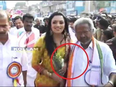 Swetha Menon Harassed By Peethambara Kurup video
