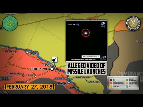 28 февраля 2018. Военная обстановка в Сирии. Сообщения о боях сирийских и проамериканских сил.