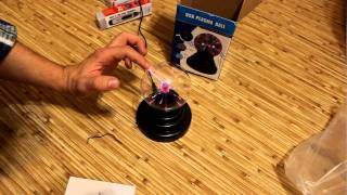 Plasma Ball with USB Operated