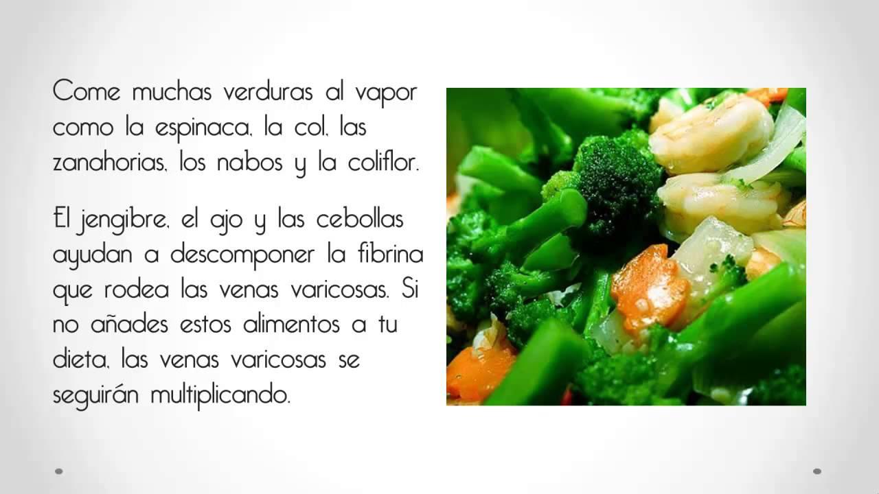 Como Se Curan Las Varices | Alimentos Que Debes Comer Y