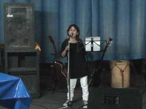 Taller de canto, Laura Serrano, canta Abril ,