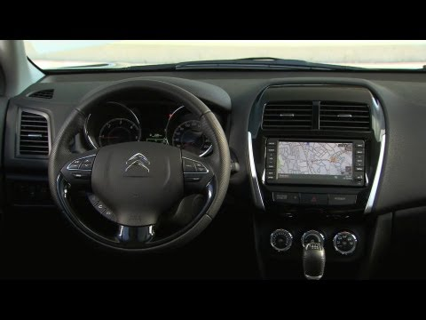  2013 Citron C4 Aircross INTERIOR