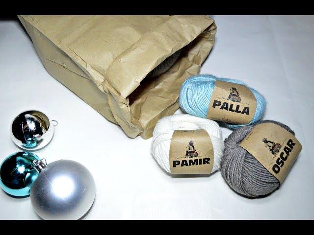 Распаковка посылки @woolen_house_  Выбираю пряжу для детских изделий.Вязание.Рынашко