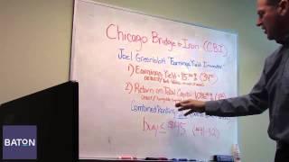 Stock Pick Video #8 - Chicago Bridge & Iron Company N.V. (NYSE: CBI)