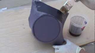 How to fiberglass (kick panels)