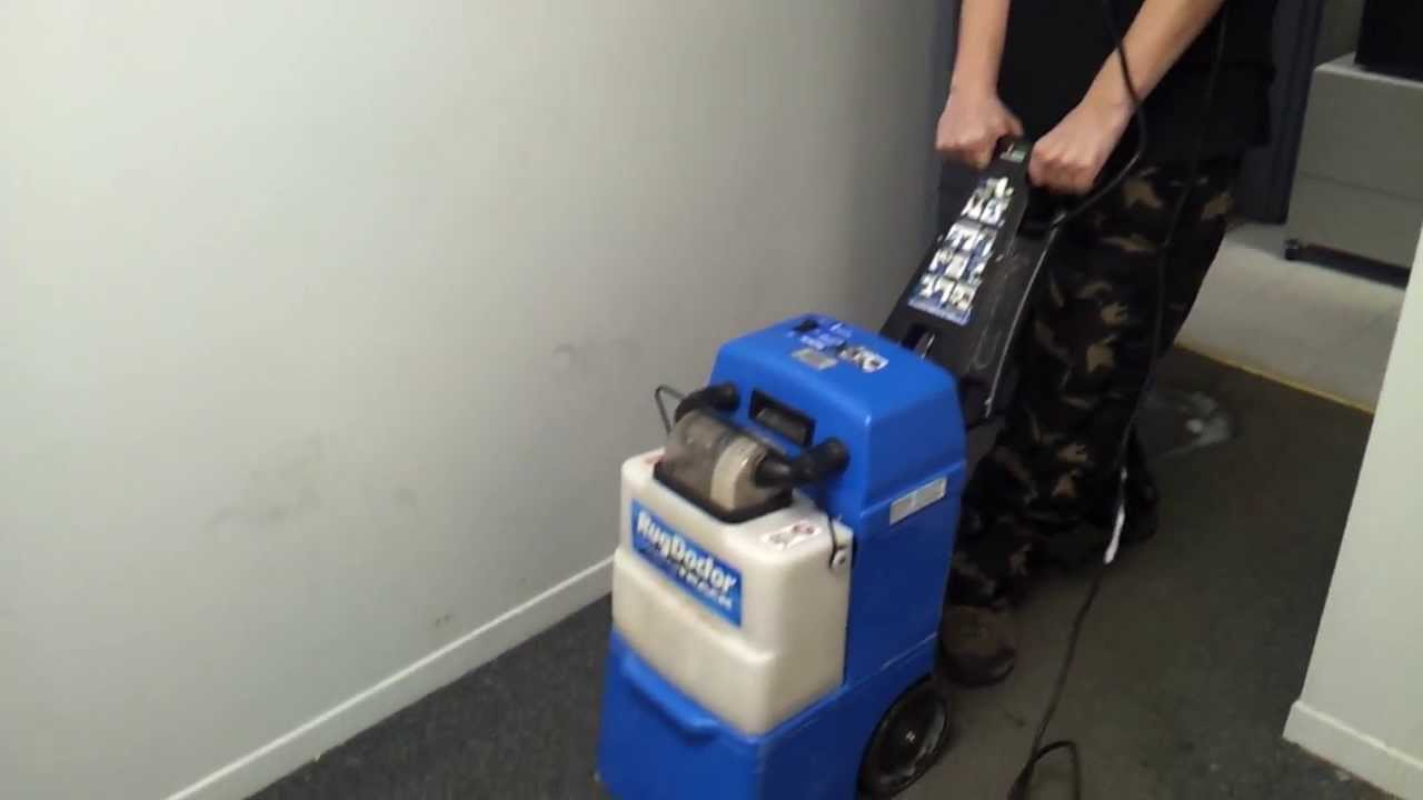 Testing Rug Doctor Wide Track After Water Pump Replacement