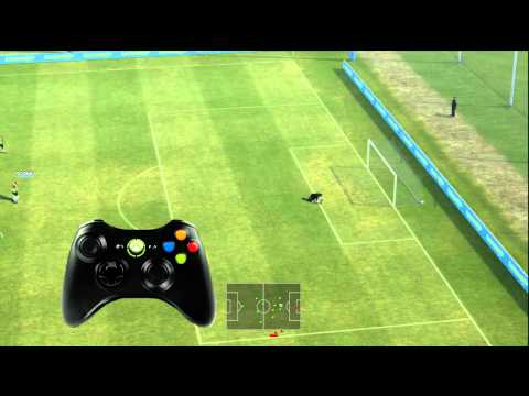 PES 2012 Long Shot Tutorial - Skills Tutorial 5