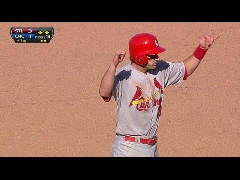 Carpenter doubles home a third Cardinals run