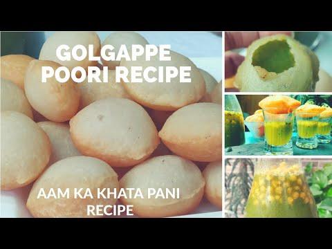 सूजी के गोलगप्पे | Golgappe Recipe | Pani puri Recipe | Puchka pani puri Recipe | Suji Ke Bataashe