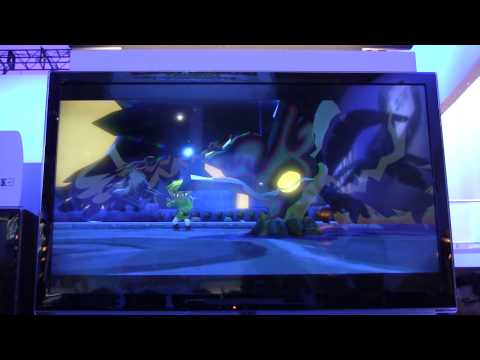 The Legend of Zelda: Wind Waker HD Boss Battle with Audio