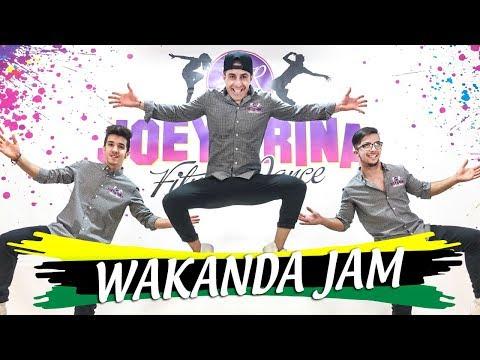 WAKANDA JAM Mr Vegas Coreografia Joey&Rina || TUTORIAL || Balli di Gruppo 2018 Line Dance