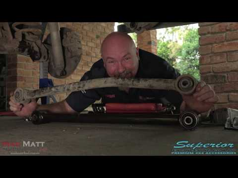 How To Install Rear Lower and Upper Control Arms from Superior Engineering