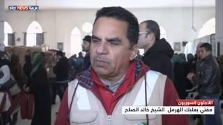 مساعدات إماراتية للاجئي سوريا بلبنان