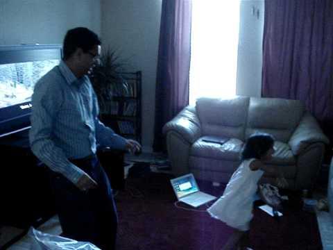 Aadya and Atin dancing !