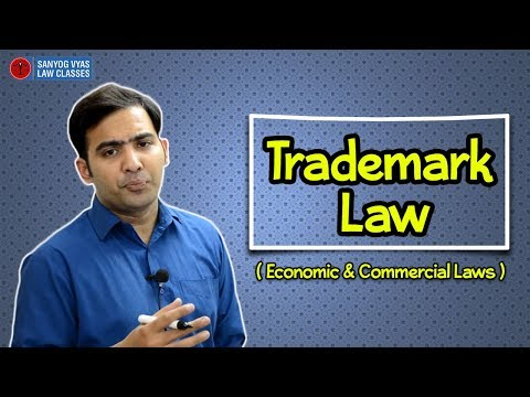 Trademark Law (Economic & Commercial Laws)