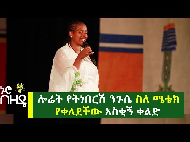 Yetnebresh Nigusse's Motivational Speech