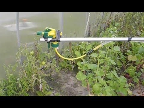 Простой,мощный и халявный распылитель для огорода 2