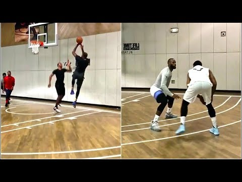 Kevin Durant Carmelo Anthony Team Up Against Lebron James For
