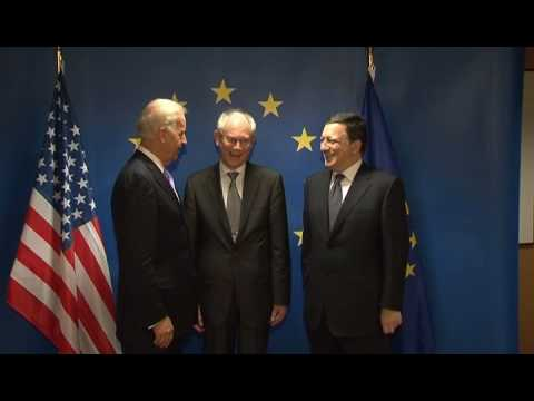 with Joe Biden, US Vice-President