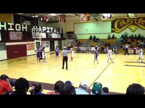 Columbia High School (SC) Lady Capitals vs Saluda High School (2012)