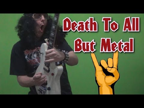 Guitar Lesson - Death To All But Metal (Steel Panther) guitar solo. with tabs!