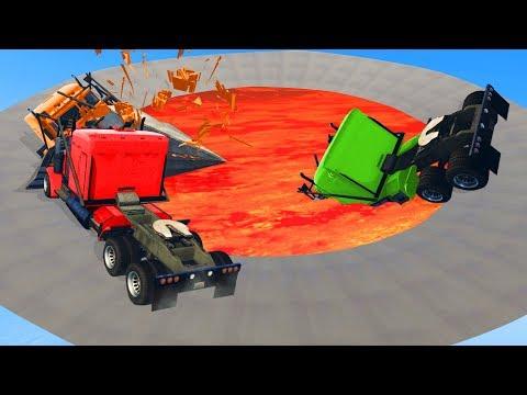 Ultimate LAVA Demo Derby! - GTA 5 Funny Moments