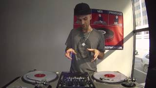 Learn To DJ Tutorial: How to Properly Execute the Crab Scratch (DJ Throdown)
