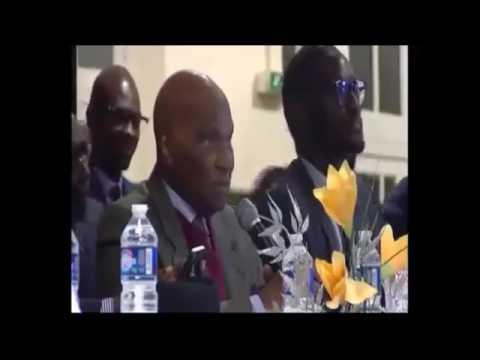 La déclaration de Me Abdoulaye Wade à la conférence de Paris sur l'état de la démocratie au Sénégal