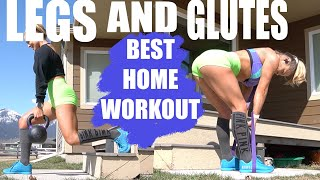 LEG AND GLUTE WORKOUT AT HOME