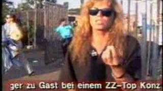 Joey Tempest - Interview - Metal Hammer Video 1991
