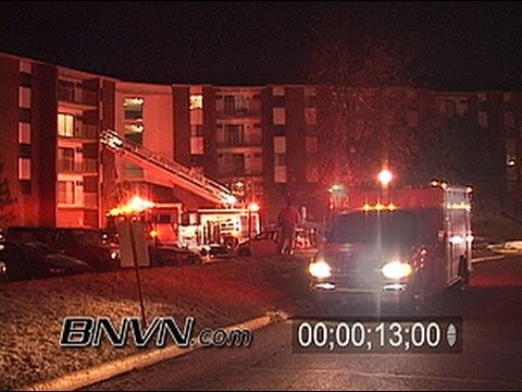 3/7/2005 Generic EMS, Police, & Fire Rescue Crew Stock Video