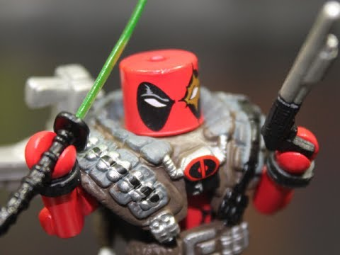 Minimates Deadpool Review Deadpool Assemble Minimates