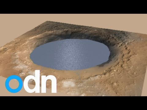 NASA: Images show Mars crater once held massive lake