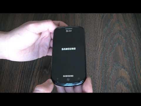 How To Hard Reset A Samsung Focus SGH-i917 Smartphone