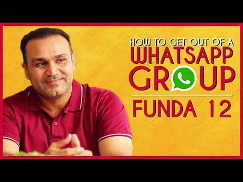 How to Get Out Of A WhatsApp Group | Viru Ke Funde - Ep 12 thumbnail