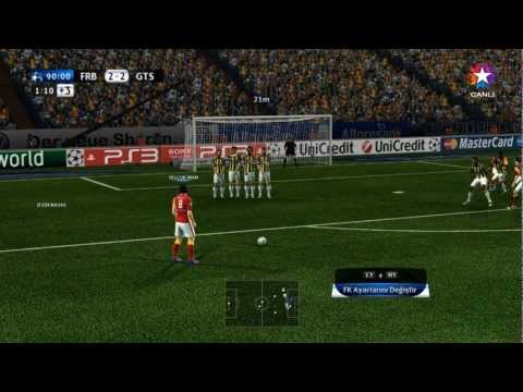 Galatasaray - Fenerbahe ampiyonlar Ligi Finali [HD] Pes 2012 - Trke Spiker