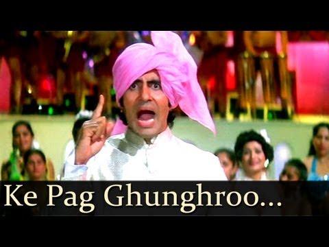 Namak Halaal  - Ke Pag Ghunghroo Bandh Meera - Kishore Kumar...
