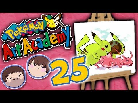 Pokemon Art Academy: Weird and Gross - PART 25 - Grumpcade