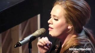 Adele 05 Set Fire To The Rain Full Paris Live Concert Hd At La Cigale 4 Apr 2011
