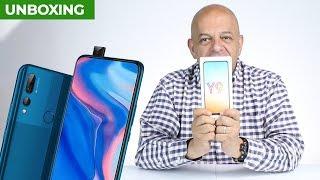 Huawei Y9 Prime 2019 con cámara que se esconde - Unboxing