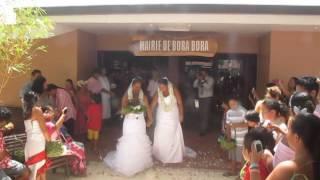 Bora Bora celebrates first gay/lesbian marriage