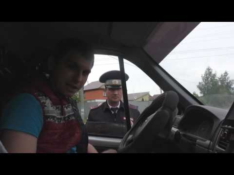 Истерия от старшего лейтенанта ДПС г.Ульяновск Самыкина Дениса